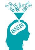 Anorexia nervosa Royalty Free Stock Image