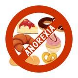 Anorexia nervosa Royalty Free Stock Photo