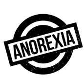 Anorexia pieczątka Ilustracja Wektor