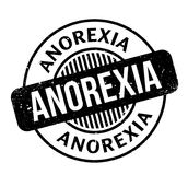 Anorexia rubber stamp. Grunge design with dust scratches. Effects can be easily removed for a clean, crisp look. Color is easily changed Royalty Free Stock Photo
