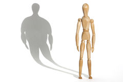 Anorexia stock image