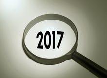 2017 anos Imagem de Stock