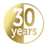 30 anos Imagem de Stock