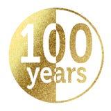 100 anos Fotografia de Stock Royalty Free