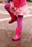 4 anos adoráveis da menina idosa Imagem de Stock Royalty Free