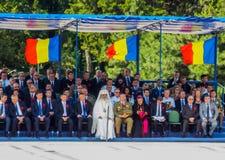 100 anos após a primeira guerra mundial em Europa, comemoração em Europa, heróis romenos Imagens de Stock Royalty Free