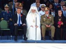 100 anos após a primeira guerra mundial em Europa, comemoração em Europa, heróis romenos Foto de Stock Royalty Free