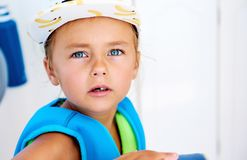 5 anos bonitos da menina idosa Fotografia de Stock Royalty Free