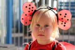 2 anos bonitos da menina idosa Imagens de Stock Royalty Free