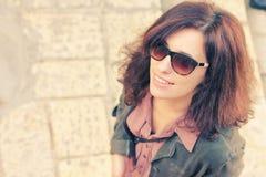 35 anos bonitos da mulher adulta Fotos de Stock