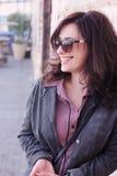 35 anos bonitos da mulher adulta Foto de Stock Royalty Free