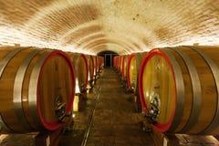 500 anos de adega de vinho velha no knezevi Vinogradi, Croácia Fotos de Stock Royalty Free