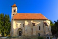 700 anos de igreja velha Imagem de Stock