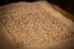 300 anos de livro velho Imagem de Stock Royalty Free