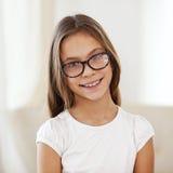 8 anos de menina idosa Fotos de Stock