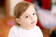 2 anos de menina idosa Imagens de Stock