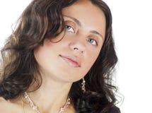 30 anos de mulher adulta Imagem de Stock Royalty Free