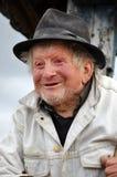 90 anos de pastor idoso Fotos de Stock