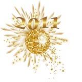 Anos de véspera novos - 2011 Imagens de Stock Royalty Free
