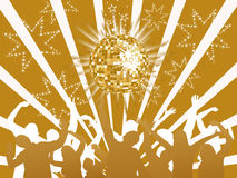 Anos de véspera novos 2011 Foto de Stock Royalty Free
