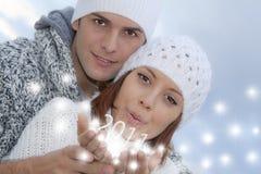 Anos de véspera novos 2011 Imagens de Stock