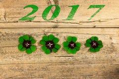 Anos de véspera novos 2017 Imagens de Stock