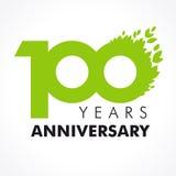100 anos de verde de comemoração velho Fotografia de Stock