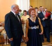 50 anos junto Imagem de Stock Royalty Free