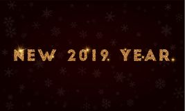2019 anos novo Foto de Stock Royalty Free