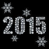 2015 anos novo Imagem de Stock