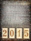 2015 anos novo Fotografia de Stock Royalty Free