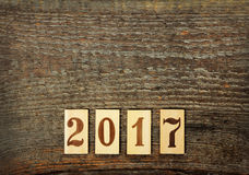 2017 anos novo Imagens de Stock