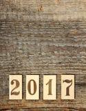 2017 anos novo Fotografia de Stock