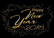 2018 anos novo feliz Fotos de Stock