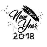 2018 anos novo feliz Imagens de Stock