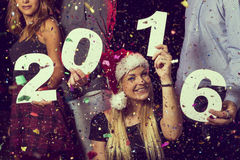 2016 anos novo feliz Foto de Stock