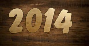 2014 anos novos Foto de Stock Royalty Free