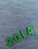 2014 anos novos Imagens de Stock