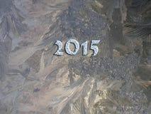 2015 anos novos Fotografia de Stock