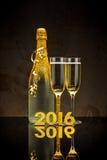 2016 anos novos Foto de Stock Royalty Free