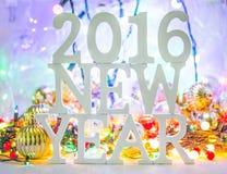2016 anos novos Imagens de Stock
