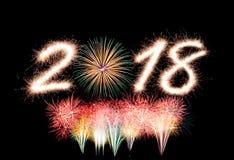 2018 anos novos Imagem de Stock