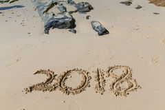 2018 anos novos Fotografia de Stock