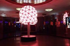 Anos novos centenários de Eve Ball Fotos de Stock Royalty Free