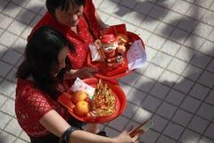 2017 anos novos chineses Fotos de Stock