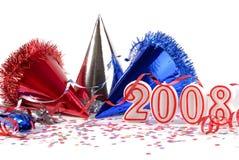 Anos novos da celebração Imagem de Stock