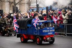 Anos novos da parada Fotos de Stock Royalty Free