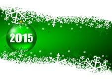 2015 anos novos de ilustração Fotos de Stock