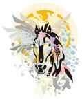 Anos novos do cavalo Imagem de Stock