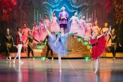 Anos novos do desempenho no centro cultural Foto de Stock